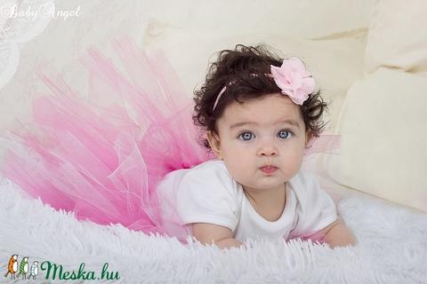Szülinapi babaruha, tütüs szett, lila szíves (BabyAngel) - Meska.hu