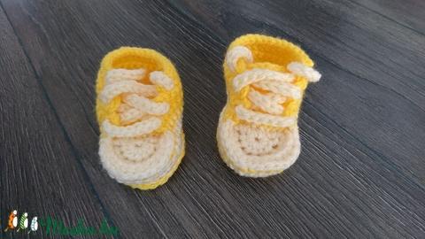 Baby horgolt sportcipő (babyboomclothes) - Meska.hu