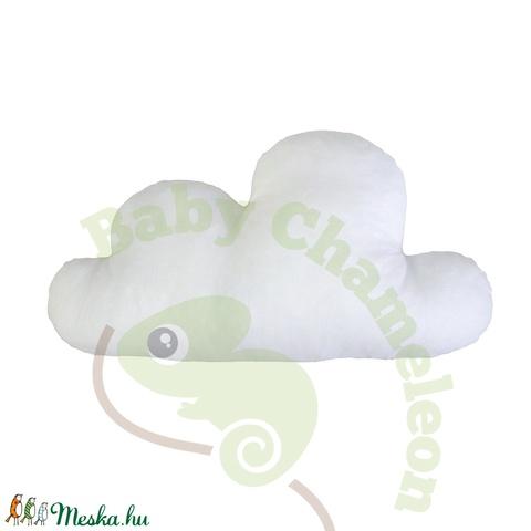 Felhő formapárna (BabyChameleon) - Meska.hu