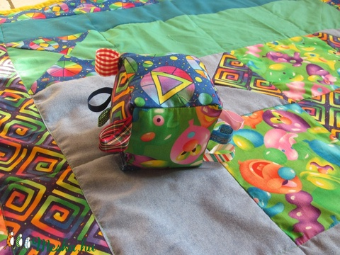 patchwork babatakaró (Banyamanufaktura) - Meska.hu