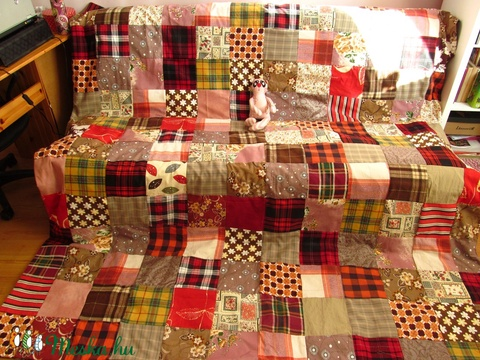 patchwork takaró (Banyamanufaktura) - Meska.hu
