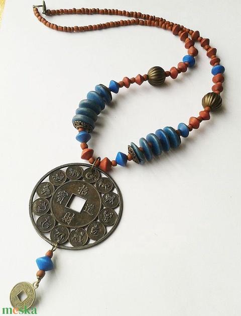 Kínai Horoszkóp - bronz medálos nyaklánc  - Meska.hu