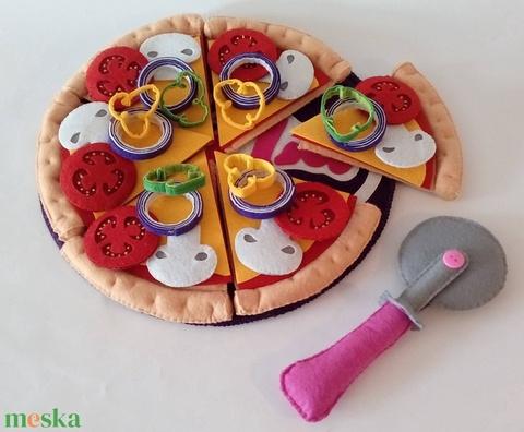 Filc ételek (pizza készítő szett) - Meska.hu