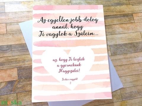 Nagyszülők lesztek képeslap - Baba bejelentés Nagyszülőknek - vicces, kaparós sorsjegy hatású képeslap (BBdesign) - Meska.hu