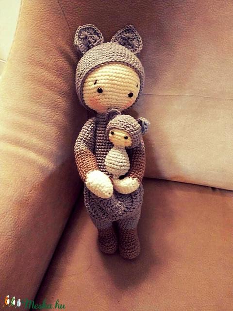 Kenguru kislány  (beebseg) - Meska.hu