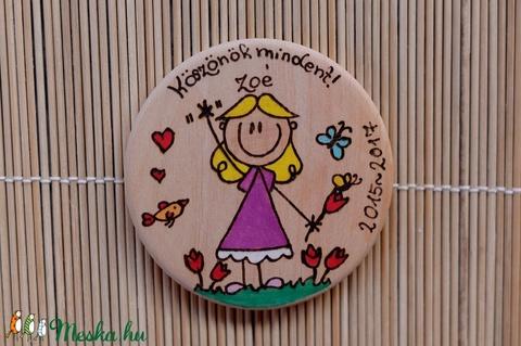 Búcsú hűtőmágnes bölcsődébe, óvodába, iskolába 1 fő (Beecreative) - Meska.hu