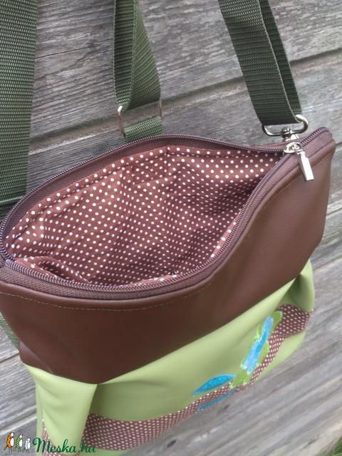 Zöld-barna 3in1 hátizsák rendelhető - Meska.hu