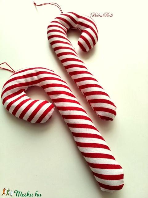 Cukorpálca karácsonyfadísz (belinbolt) - Meska.hu
