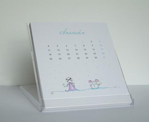 naptár saját készítésű asztali WoW naptár (Belyart)   Meska.hu naptár saját készítésű