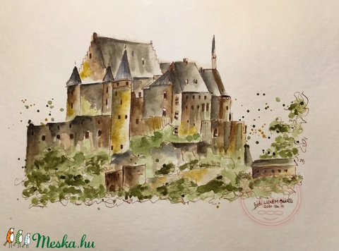 Luxemburg (bernadettebodiart) - Meska.hu