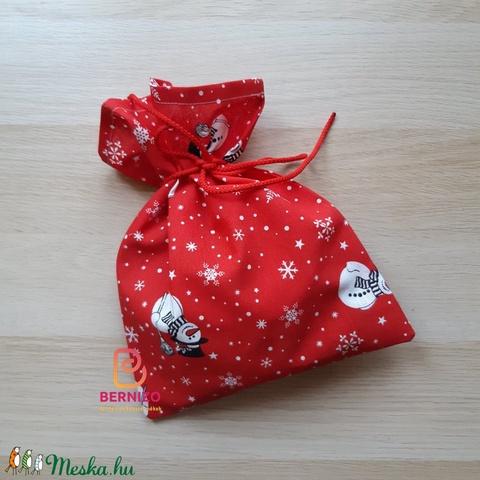 Hóemberes ajándékzsák (Bernizo) - Meska.hu