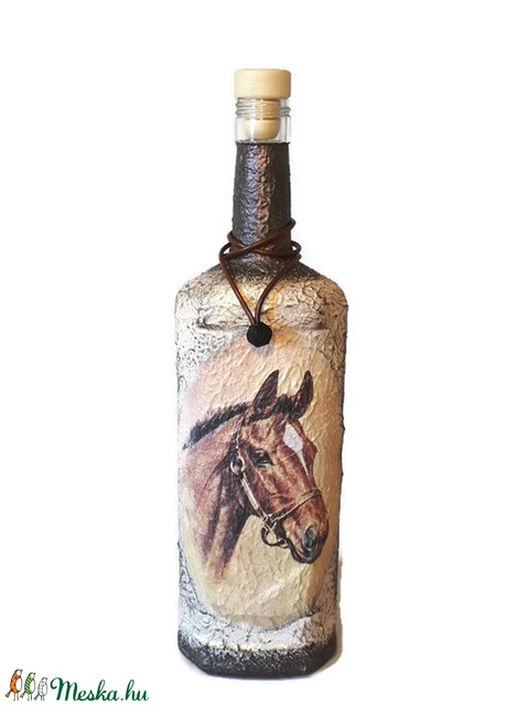 Lovas dísz-és használati ló imádónak, lovasoknak, ló tenyésztőknek, lovaglást kedvelőknek (Biborvarazs) - Meska.hu
