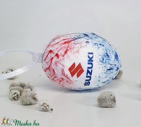 Suzuki húsvéti tojás, autó rajongói meglepetés tojás, nem csak húsvétra, névnapra, szülinapra... (Biborvarazs) - Meska.hu