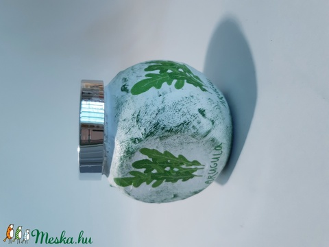 Rukkola fűszertartó, konyhai kiegészítő névnapra, szülinapra, anyáknapjára, karácsonyra.  (Biborvarazs) - Meska.hu