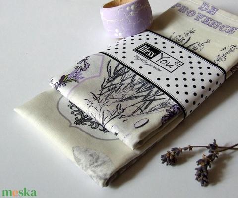 Provance levendulás textil szalvéta - 2 db (Blessyou) - Meska.hu