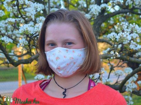 Szűrőbetétes maszk, #125 többféle méretben maszk, női maszk, gyerek maszk, mosható maszk, pamut maszk, maszk - Meska.hu