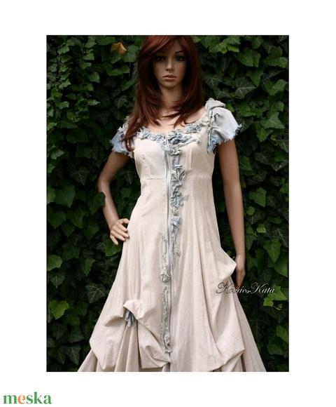 BELLA - romantikus design ruha  - Meska.hu