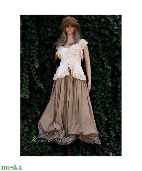 LENKE - shabby chic design ruha - Meska.hu