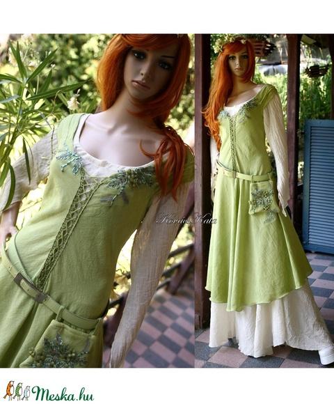 FIORELLA - art to wear tündérruha  - Meska.hu
