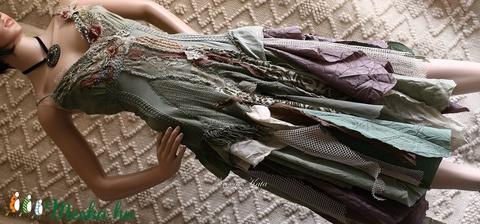 ETA - shabby chic art-design ruha (brokat) - Meska.hu