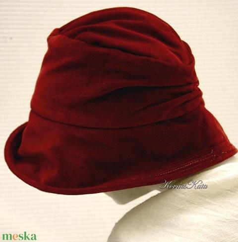 RUBIN - flapper design kalap  (brokat) - Meska.hu