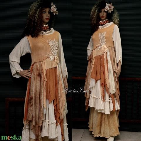 PÁLMÁS - shabby chic design ruha (brokat) - Meska.hu