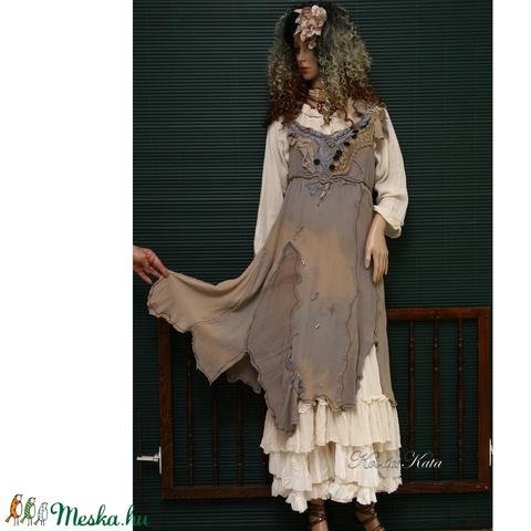 MARTINA  art to wear nimfa-ruha (brokat) - Meska.hu
