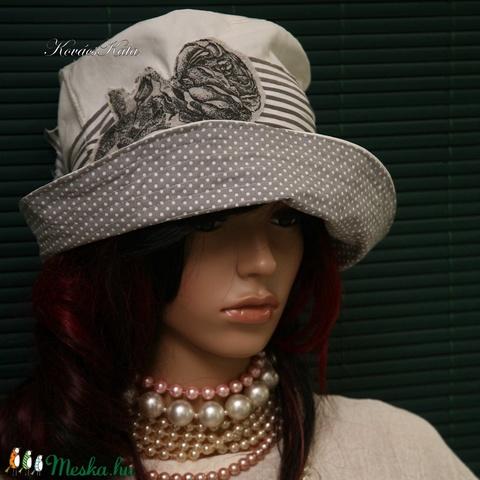 RÓZA - nyári design-kalap - Meska.hu