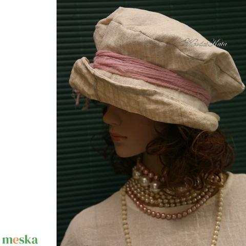 ANDERSEN - design-kalap - kézzel szőtt lenvászonból - Meska.hu