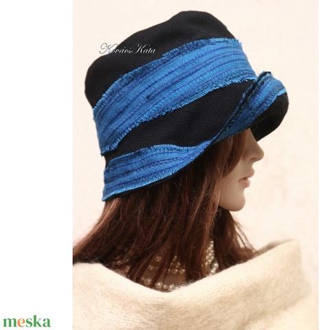 FANNI cloche - patchwork design kalap (brokat) - Meska.hu