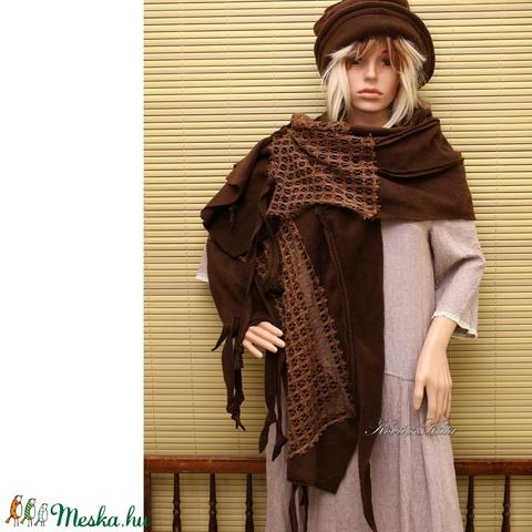 PASKA-STÓLA / csoki- patchwork design (brokat) - Meska.hu