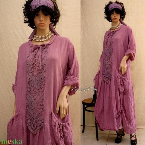 RUBY - artsy design-ruha  (brokat) - Meska.hu