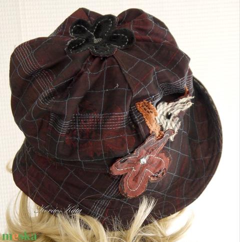 MARGITKA - design-kalap (brokat) - Meska.hu