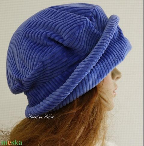 ANDERSEN / áfonya - kordbársony design-kalap (brokat) - Meska.hu