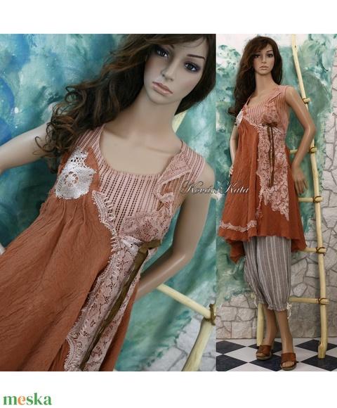 XÉNIA - shabby chic design-ruha - Meska.hu
