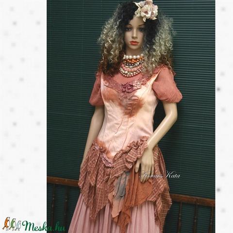 HAMUPIPŐKE - art to wear korzet-ruha - Meska.hu