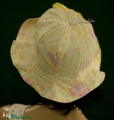 MELINA - nyári vászon kalap - Meska.hu