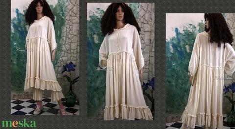 THALIA-RUHA / SZÍNEKBEN - romantikus baby-doll ruha  (brokat) - Meska.hu