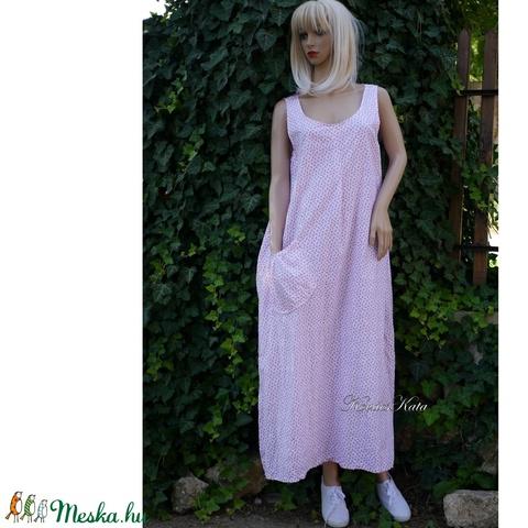 LUCY - plázs-ruha, hosszú kánikula-ruha  - Meska.hu