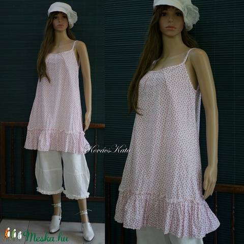 HÉDI - romantikus kombiné ruha - Meska.hu