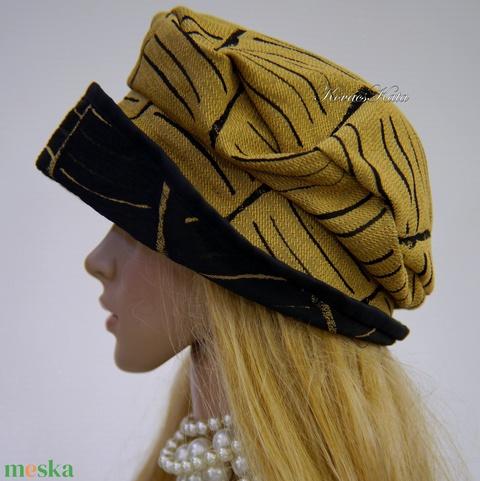SHARON - design kalap  (brokat) - Meska.hu