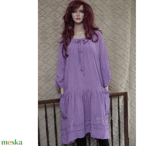 IBI -RUHA / intenzív színek - artsy lagenlook flapper-ruha  - Meska.hu