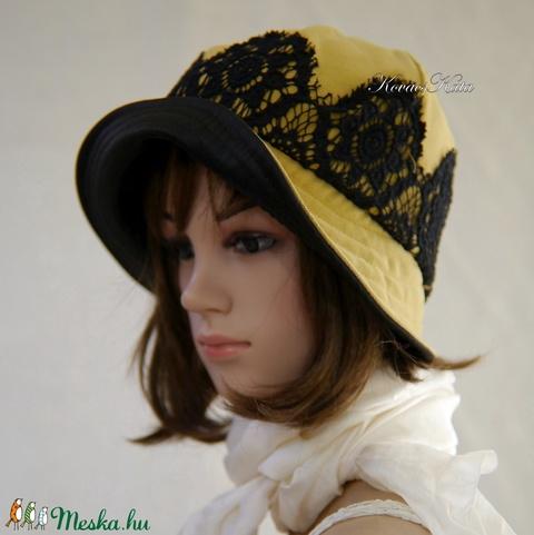 HÉLIA - extravagáns design kalap  (brokat) - Meska.hu