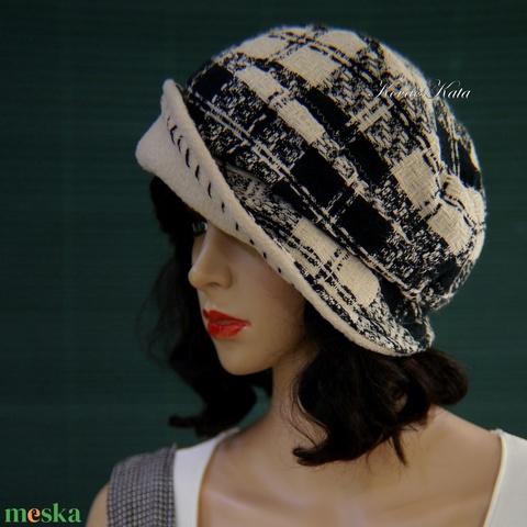 GABY - chanel-szövet design kalap (brokat) - Meska.hu