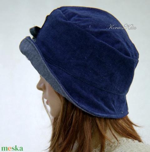 FRIDA CLOCHE - farmer design kalap  (brokat) - Meska.hu