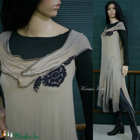 AVANTGARD - artsy design-ruha (brokat) - Meska.hu