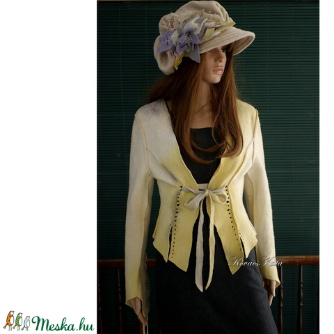 FILC-JACKET - romantikus design-kabátka (brokat) - Meska.hu
