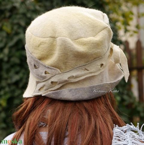 CILI-CLOCHE - bohém design filc kalap (brokat) - Meska.hu