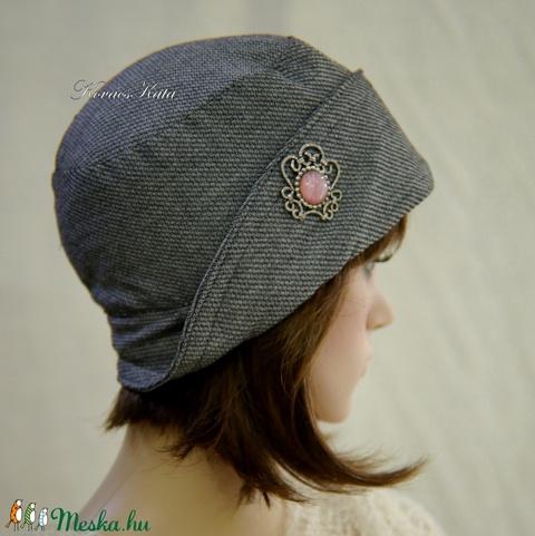 FIFI cloche S - design flapper kalap  (brokat) - Meska.hu