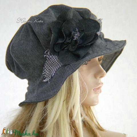 GEMMA - romantikus harang kalap / szürke L (brokat) - Meska.hu